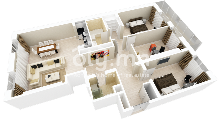 ID 281, Khoroo 26 байршилд for sale зарын residential Apartment төсөл 1