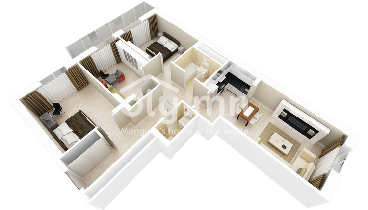 ID 282, Khoroo 26 байршилд for sale зарын residential Apartment төсөл 1