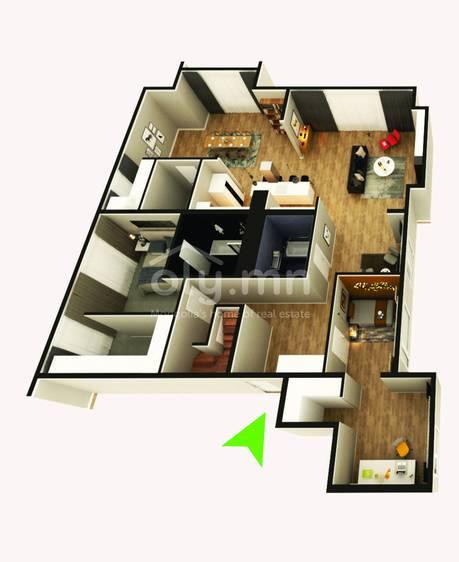 ID 279, Khoroo 4 байршилд for rent зарын residential Apartment төсөл 1