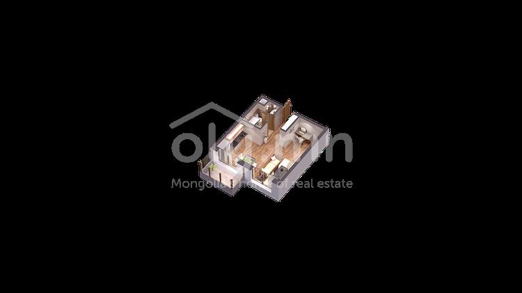 ID 212, Khoroo 7 байршилд for sale зарын residential Apartment төсөл 1