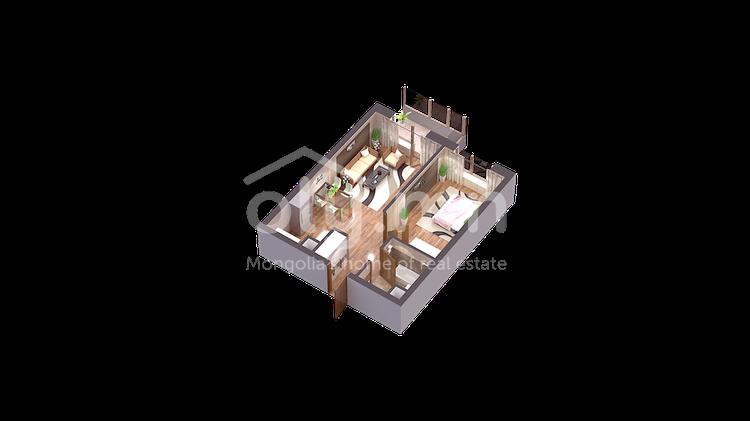 ID 209, Khoroo 7 байршилд for sale зарын residential Apartment төсөл 1