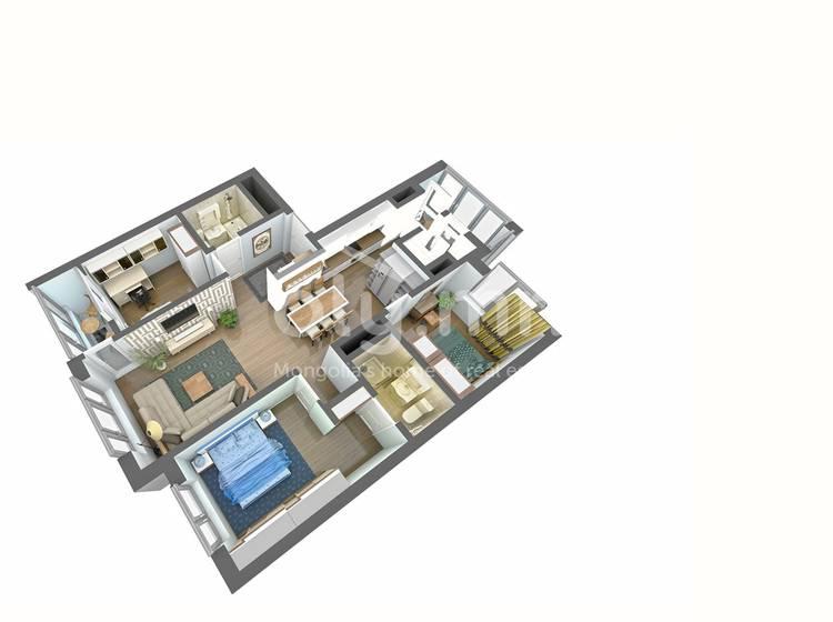 ID 118, Khoroo 15 байршилд for sale зарын residential Apartment төсөл 1