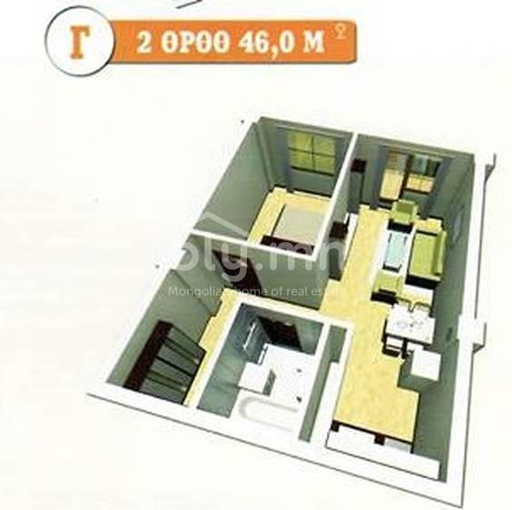 ID 454, Khoroo 19 байршилд for sale зарын residential Apartment төсөл 1