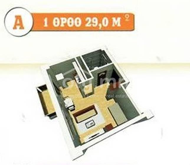 ID 451, Khoroo 19 байршилд for sale зарын residential Apartment төсөл 1