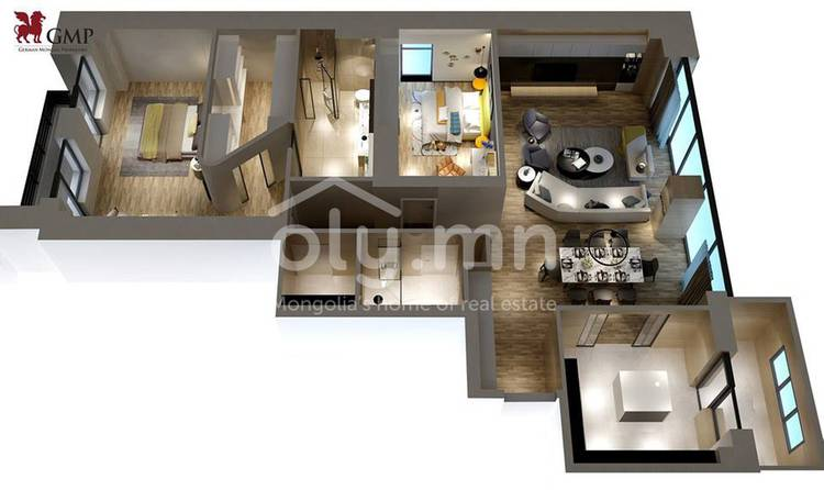ID 81, Khoroo 11 байршилд for sale зарын residential Apartment төсөл 1