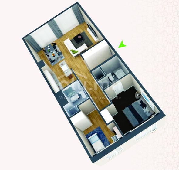 ID 262, Khoroo 4 байршилд for rent зарын residential Apartment төсөл 1