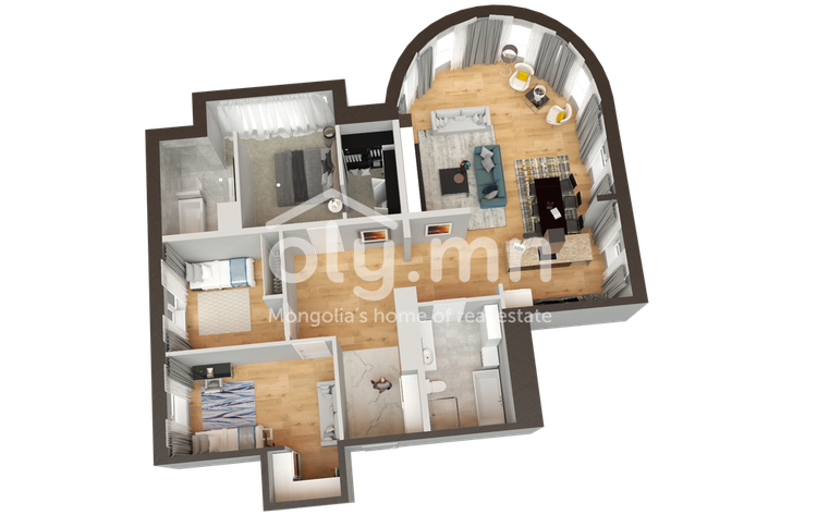 residential Apartment for rent зар #: 264 1