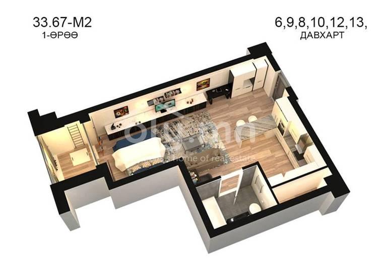 ID 786, Khoroo 14 байршилд for sale зарын residential Apartment төсөл 1