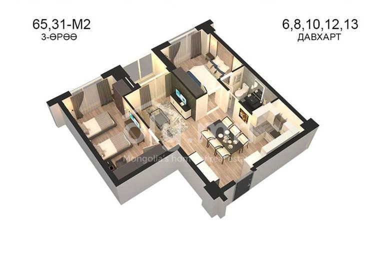 ID 797, Khoroo 14 байршилд for sale зарын residential Apartment төсөл 1