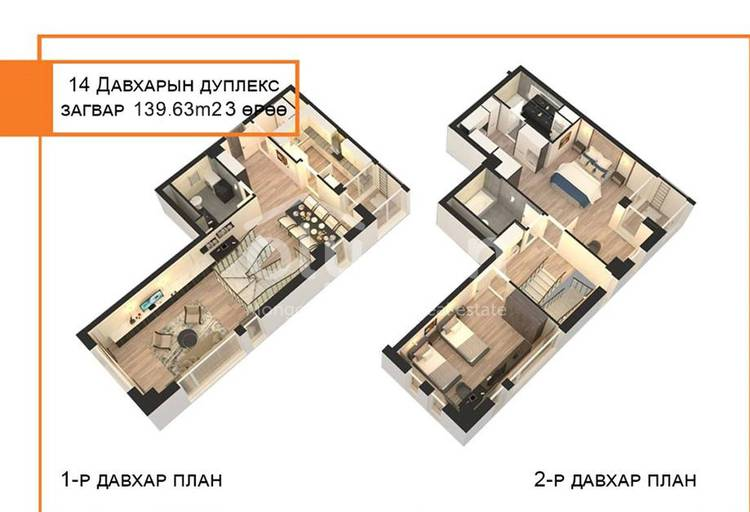 ID 780, Khoroo 14 байршилд for sale зарын residential Apartment төсөл 1