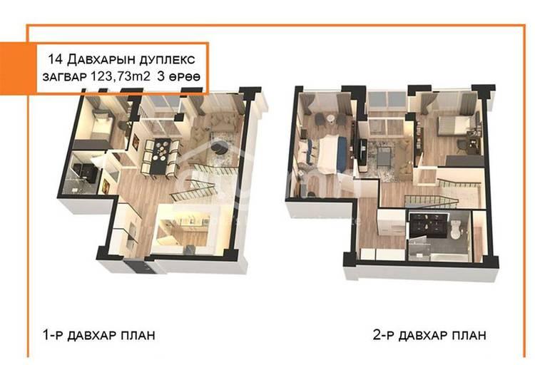 ID 783, Khoroo 14 байршилд for sale зарын residential Apartment төсөл 1
