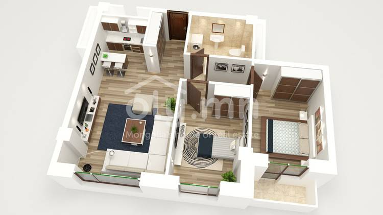 ID 1371, Khoroo 26 байршилд for sale & rent зарын residential Apartment төсөл 1
