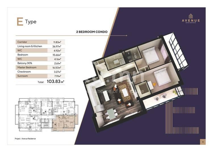 ID 1321, Khoroo 2 байршилд for sale зарын residential Apartment төсөл 1