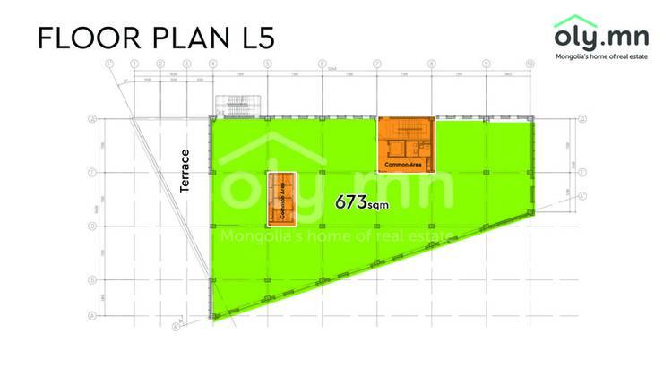 ID 1275, Khoroo 4 байршилд for sale зарын residential Offices төсөл 1