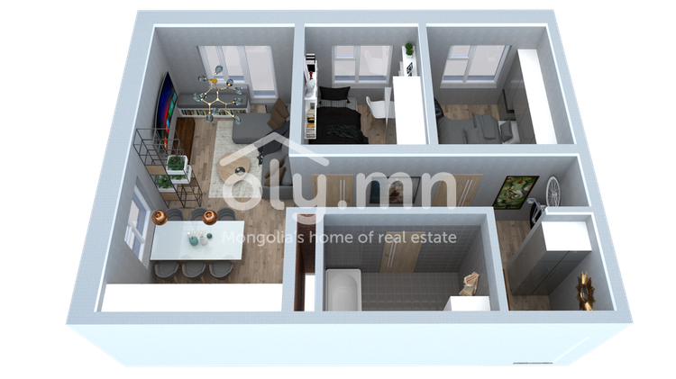 ID 1630, Khoroo 4 байршилд for sale зарын residential Apartment төсөл 1