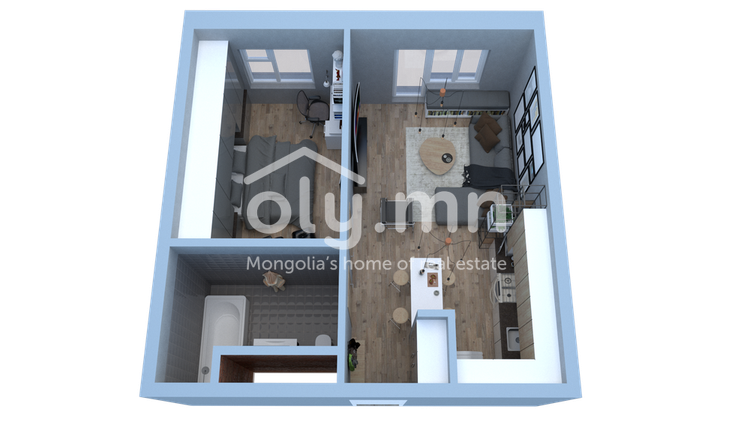 ID 1628, Khoroo 4 байршилд for sale зарын residential Apartment төсөл 1