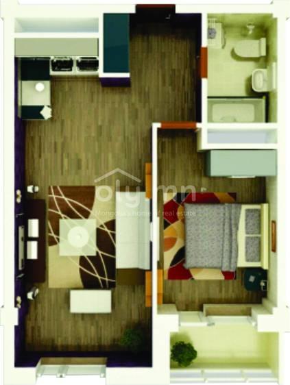 ID 1753, Khoroo 6 байршилд for sale зарын residential Apartment төсөл 1