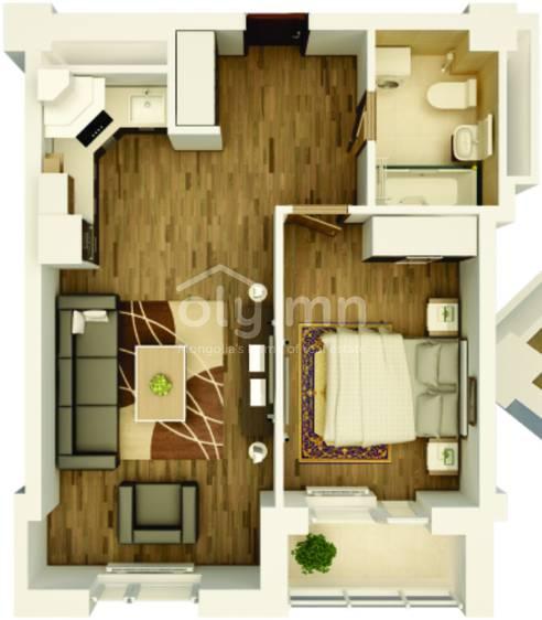 ID 1757, Khoroo 6 байршилд for sale зарын residential Apartment төсөл 1
