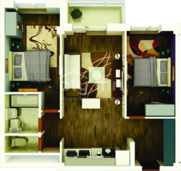 ID 1764, Khoroo 6 байршилд for sale зарын residential Apartment төсөл 1