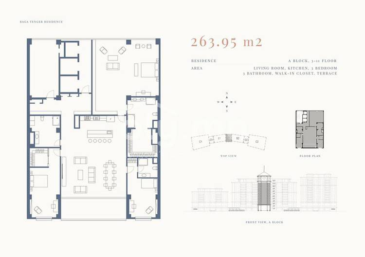 ID 1336, Khoroo 11 байршилд for rent зарын residential Apartment төсөл 1