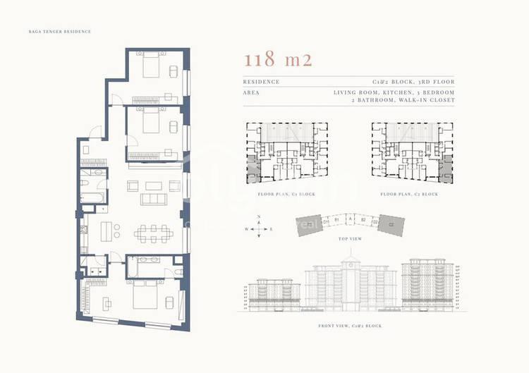 ID 1351, Khoroo 11 байршилд for rent зарын residential Apartment төсөл 1