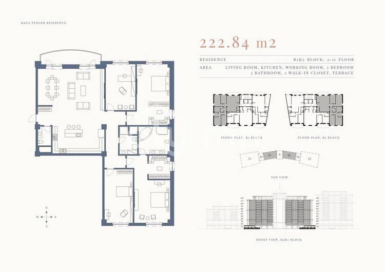 ID 1337, Khoroo 11 байршилд for rent зарын residential Apartment төсөл 1