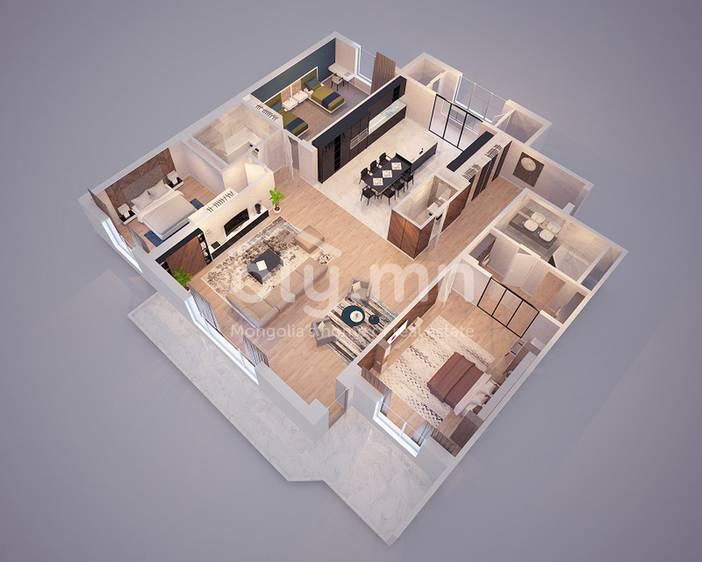 ID 1852, Khoroo 11 байршилд for rent зарын residential Apartment төсөл 1