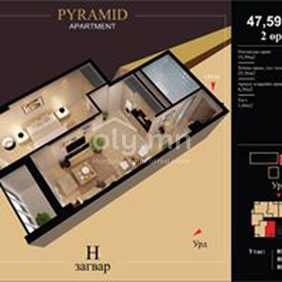 ID 2177, Khoroo 10 байршилд for rent зарын residential Apartment төсөл 1