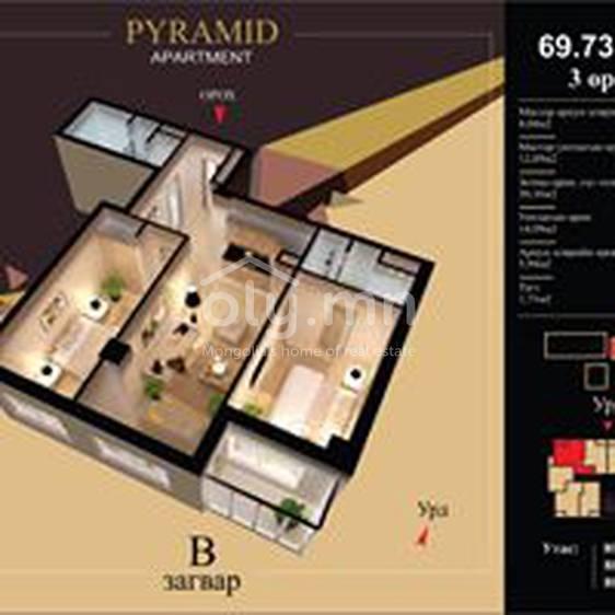 ID 2184, Khoroo 10 байршилд for rent зарын residential Apartment төсөл 1