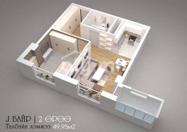 ID 2272, Khoroo 8 байршилд for sale зарын residential Apartment төсөл 1