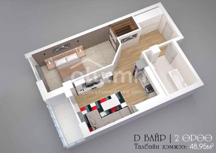 ID 2274, Khoroo 8 байршилд for sale зарын residential Apartment төсөл 1