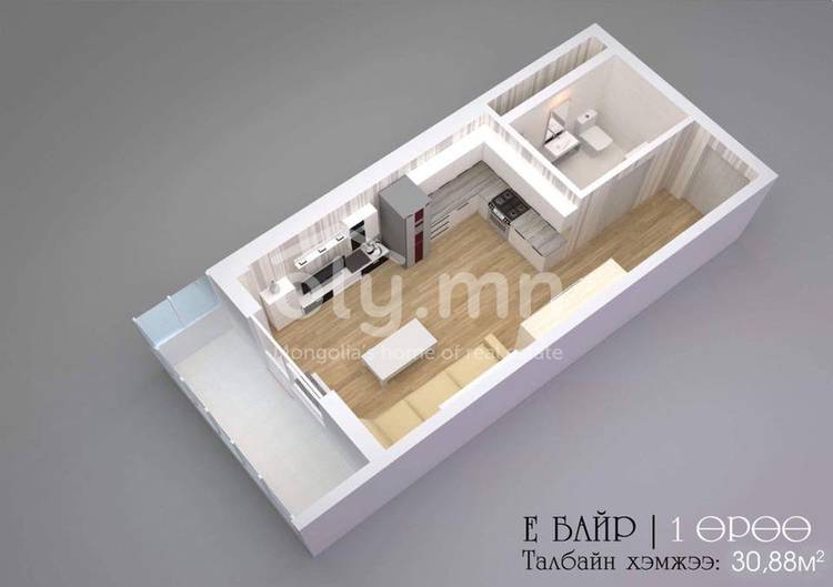ID 2270, Khoroo 8 байршилд for sale зарын residential Apartment төсөл 1