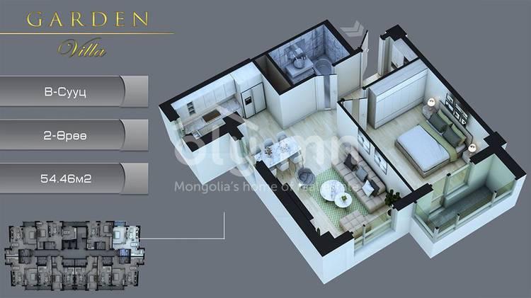 ID 2295, Khoroo 6 байршилд for sale зарын residential Apartment төсөл 1