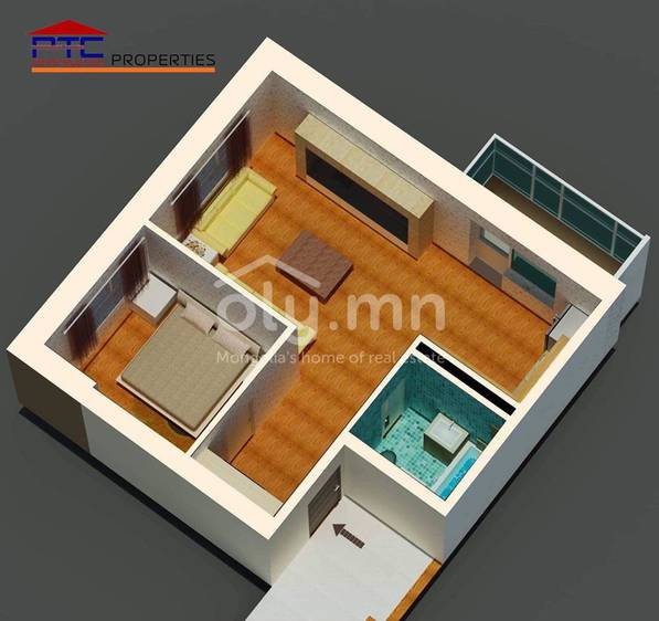 ID 2264, Khoroo 18 байршилд for sale зарын residential Apartment төсөл 1