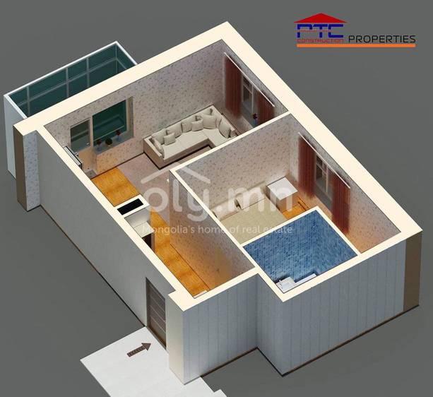 ID 2263, Khoroo 18 байршилд for sale зарын residential Apartment төсөл 1