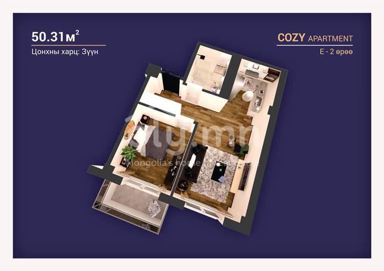 ID 2243, Khoroo 3 байршилд for sale зарын residential Apartment төсөл 1