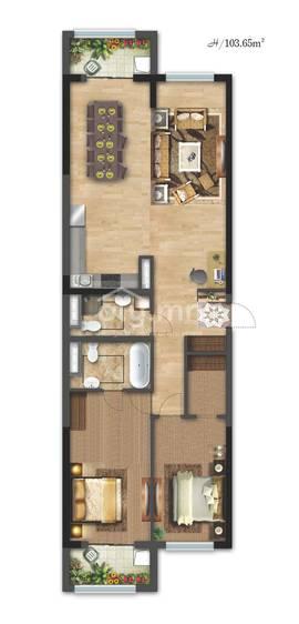 ID 2336, Khoroo 26 байршилд for sale зарын residential Apartment төсөл 1