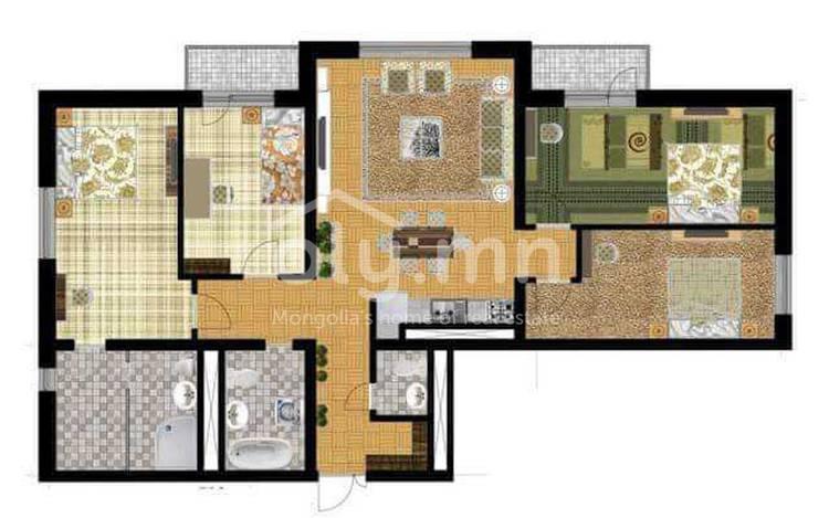 ID 2623, Khoroo 26 байршилд for sale зарын residential Apartment төсөл 1