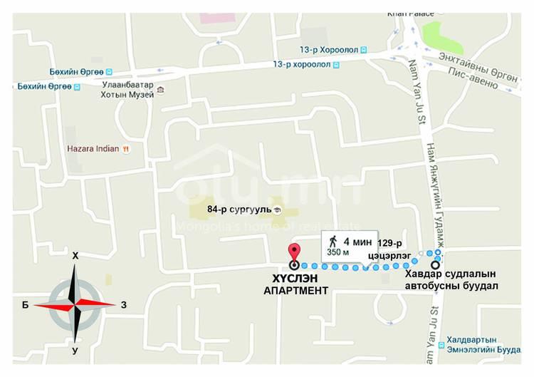 ID 2720, Khoroo 18 байршилд for sale зарын residential Apartment төсөл 1