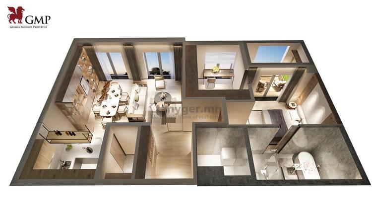 ID 80, Khoroo 11 байршилд for sale зарын residential Apartment төсөл 1
